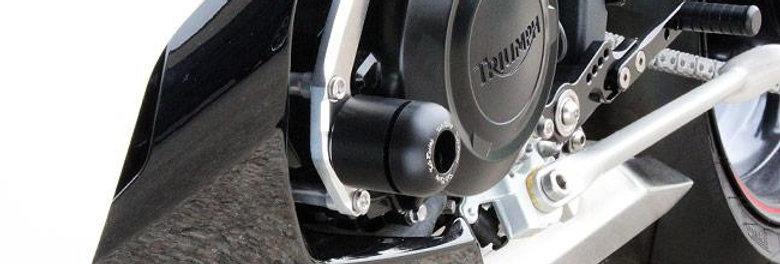 Sato Racing Left Side Engine Slider For 2013-2017 Triumph Daytona 675 / R