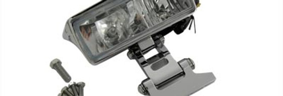 "7"" Rectangular Headlamp Assembly Glow Style with Visor"