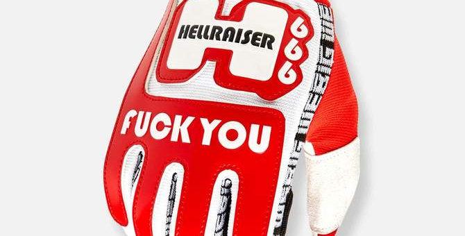 HELLRAISER MOTO X GLOVE RED