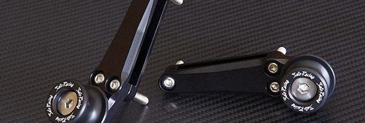 SATO RACING SWINGARM SPOOLS FOR 2011-2012 HONDA CBR250R (PAIR)