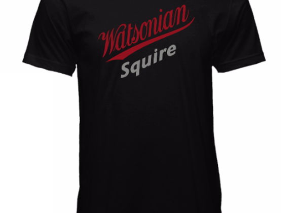 Watsonian Squire Mens Black T-Shirt