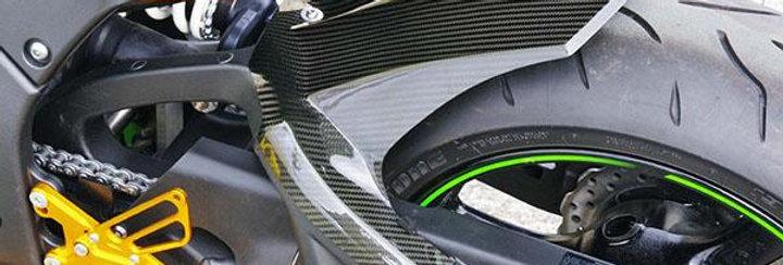 Sato Racing Carbon Fiber Rear Hugger 2011-2012 Kawasaki ZX10R