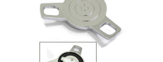 Spinner Style Chrome Gas Cap Vented