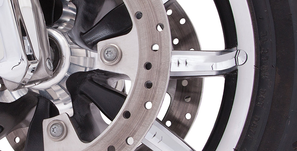 FACETED WHEEL ACCENTS CHROME