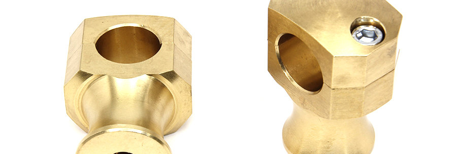 Shorty Style Brass Riser Set