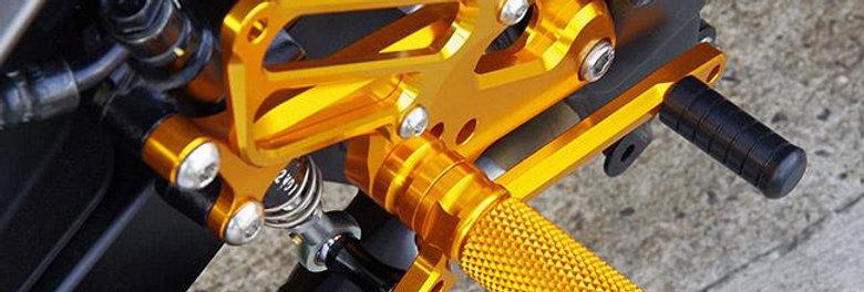 Sato Racing Adjustable Rearsets for 2013-2015 Kawasaki Ninja 300 / 250