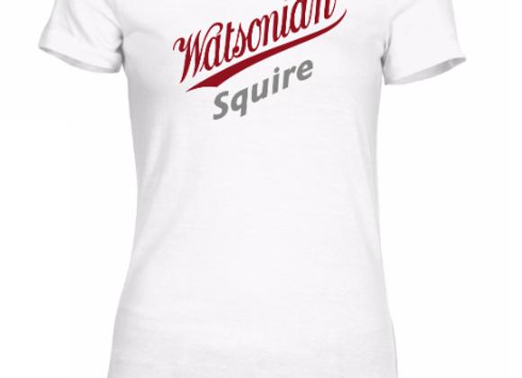 Watsonian Squire Womens White T-Shirt
