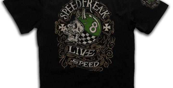Speed Freak Green Machine Black