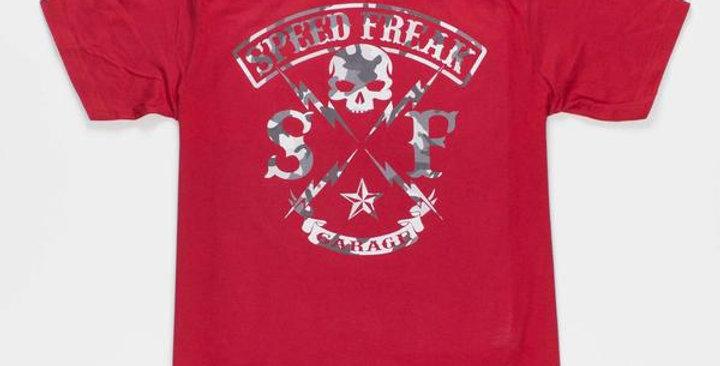 Speed Freak Camo Thunderbolt Red