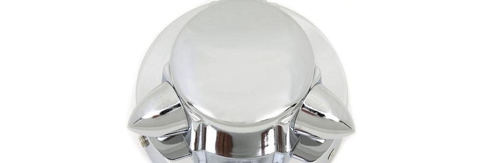 Chrome Krommet Style Gas Cap Cover