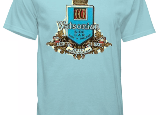 Watsonian Squire Mens Vintage T-Shirt Blue