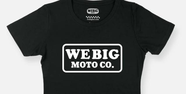 WEBIG MOTO CO CROP TEE