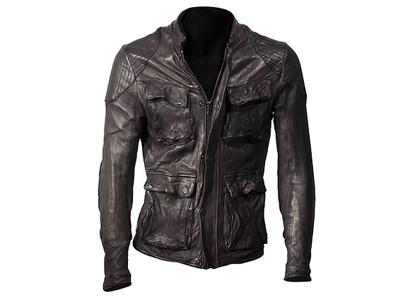 DMD BLACK LEATHER JACKET