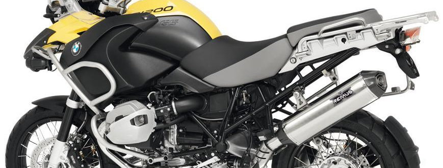 Remus Hexacone Slip-On Exhaust Systems for 2010-2012 BMW R1200GS/Adventure Air C