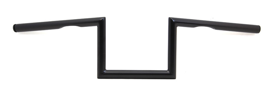 """7"""" Z Handlebar with Indents Black"""