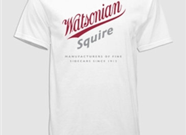 Watsonian Squire White T-Shirt