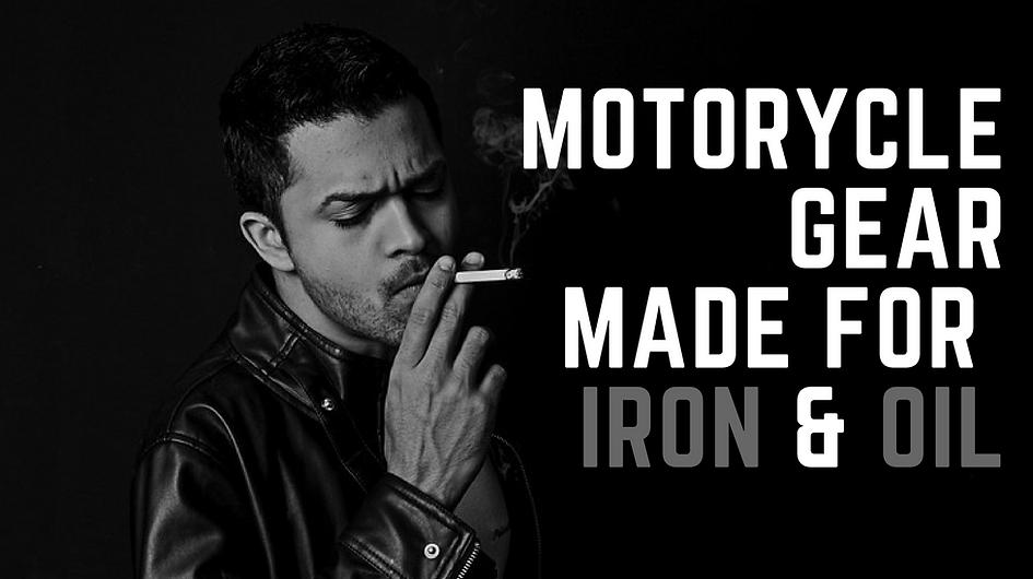 VON BARON MOTORCYCLES SAFETY GEAR