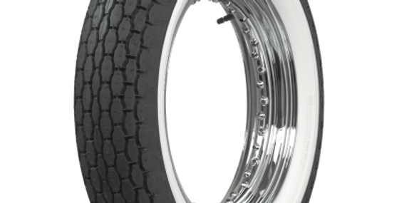 "Beck Motorcycle Tires 500-16   2"" WHITE WALL"
