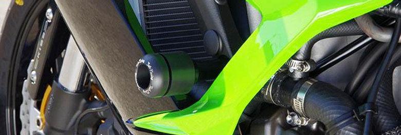 Sato Racing Frame Slider Kit for 2013-2015 Kawasaki ZX6R 636