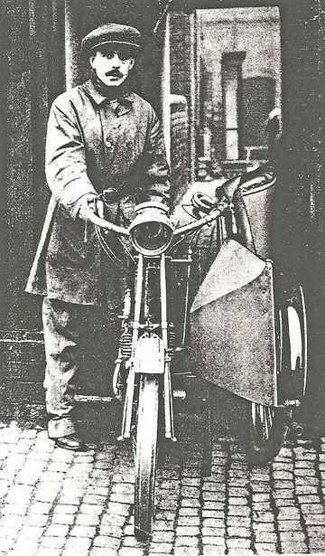 Watsonian Squire Sidecars Founder Fredrick Watson