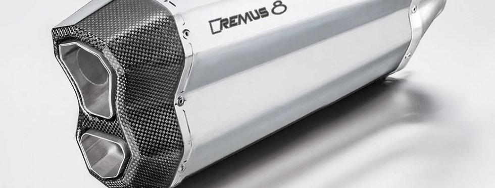 REMUS 8 Slip-On Exhaust Systems '17-'18 KTM 1090 Adventure/R, '13-'18 1190 Adven