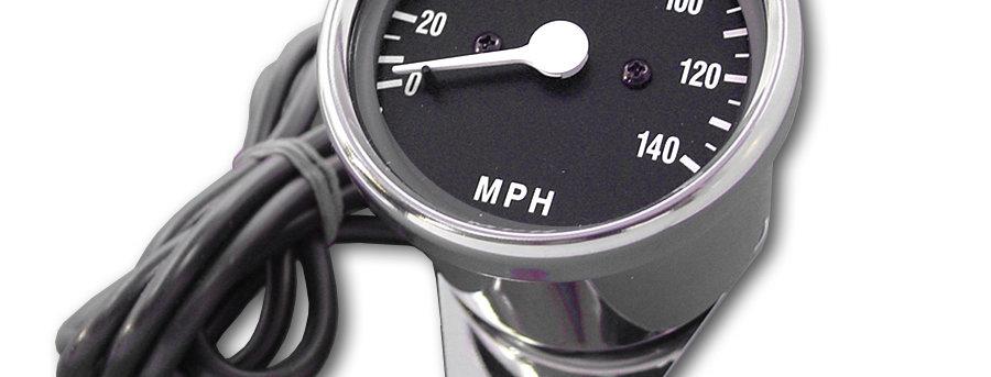 Mini 60mm Electronic Speedometer