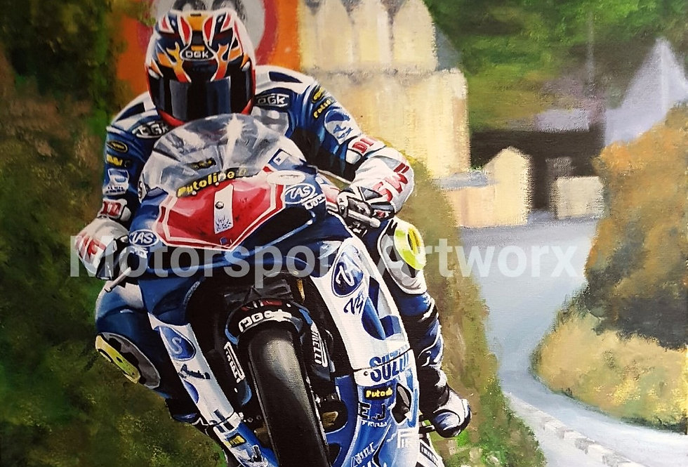 """David Jefferies, Isle of Man TT"""