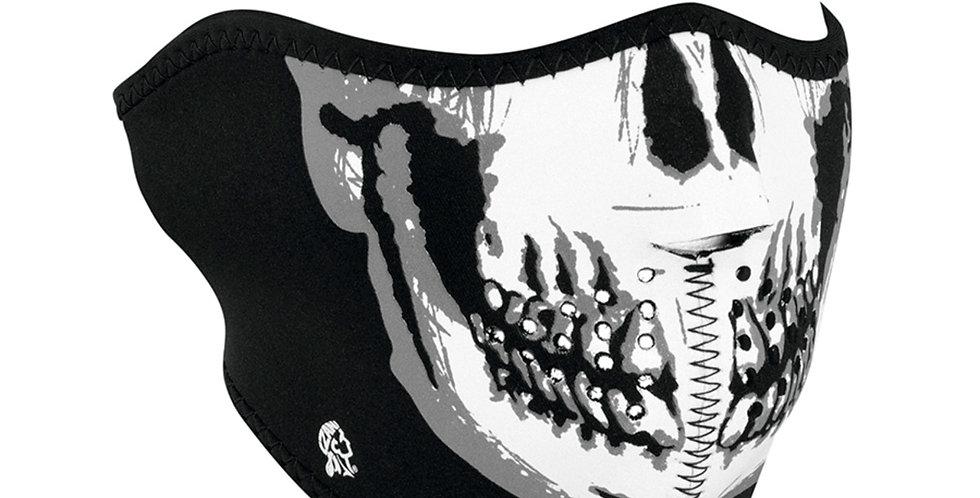 NEOPRENE HALF FACE MASK Skull Face