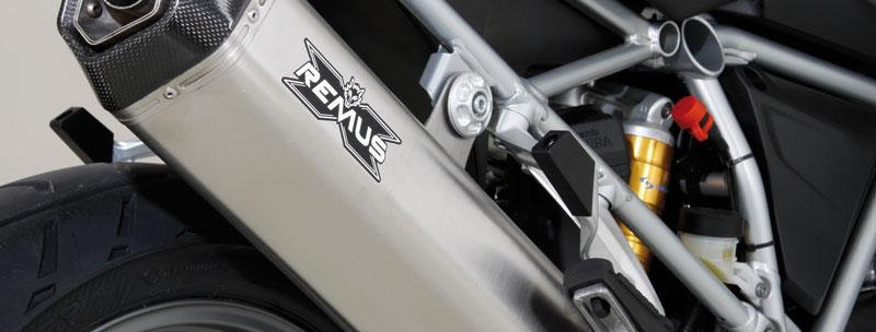 Remus Hexacone Full Exhaust Systems for 2013 BMW R1200GS Liquid Cooled