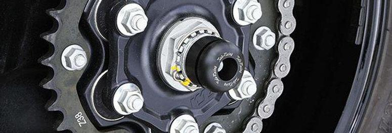 Sato Racing Rear Axle Sliders for 2014-2017 KTM 1290 Super Duke / R