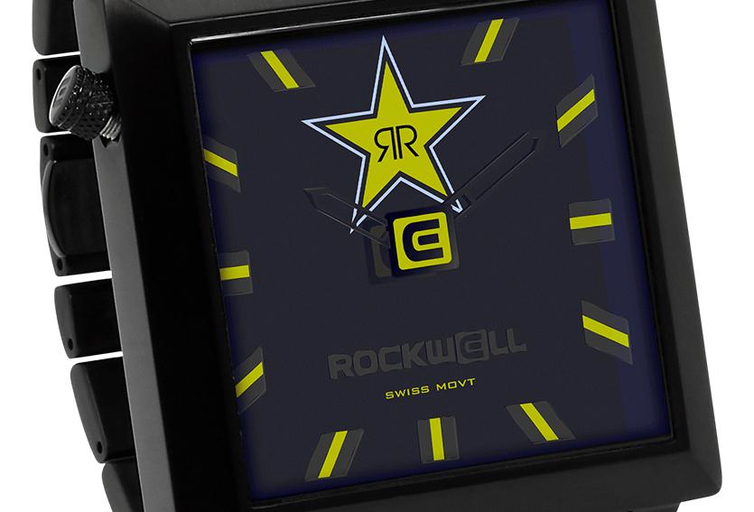 Rockstar Energy 50mm2 - Black