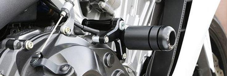 SATO RACING FRAME SLIDERS FOR 2014-2015 HONDA CBR650F/CB650F