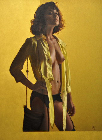 Serie: Golden Nude
