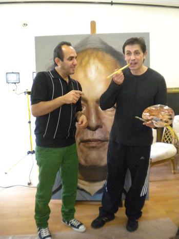 With Halil Altındere