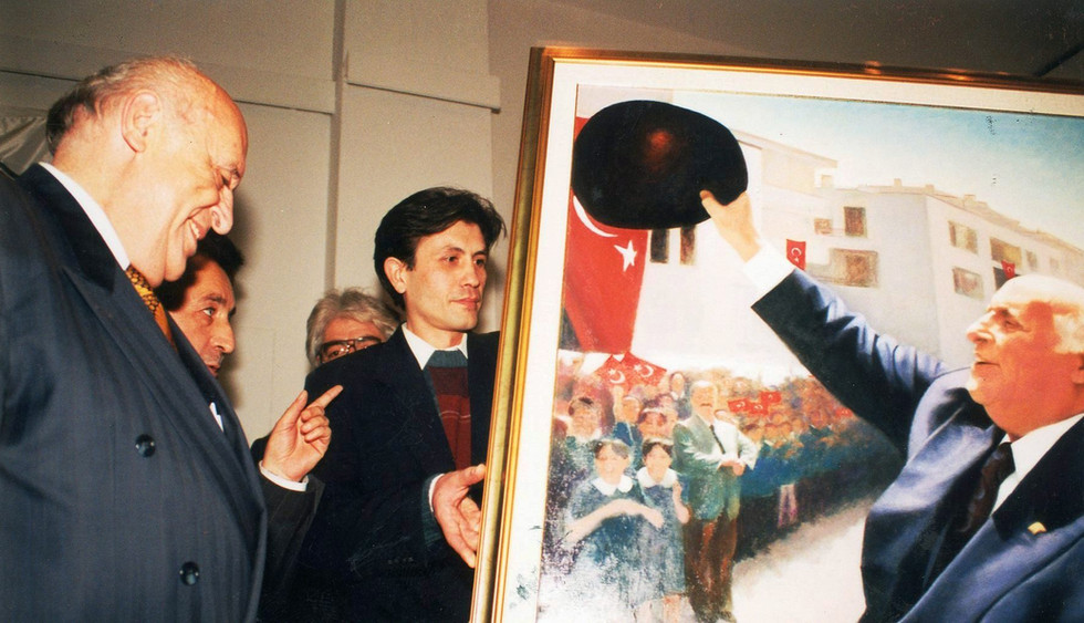 With Süleyman Demirel