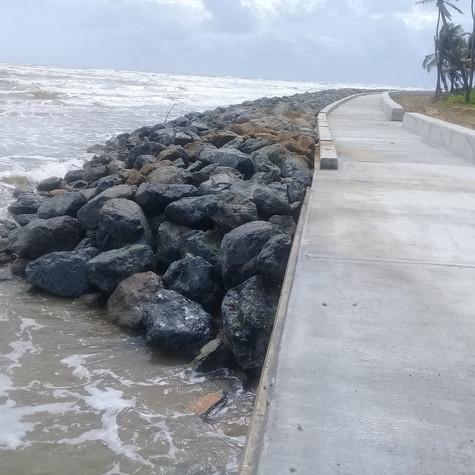 Manzanilla Shore Stabilization