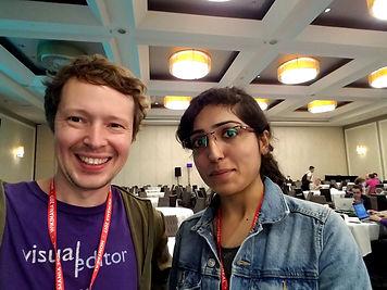 sage_and_sejal_at_wikimania_2017_hackath