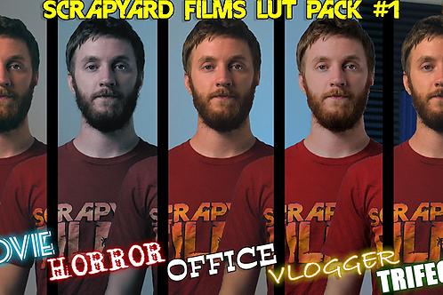 Scrapyard Films LUT Pack 1