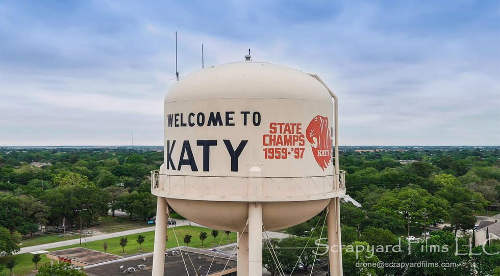 Old Katy Water Tower