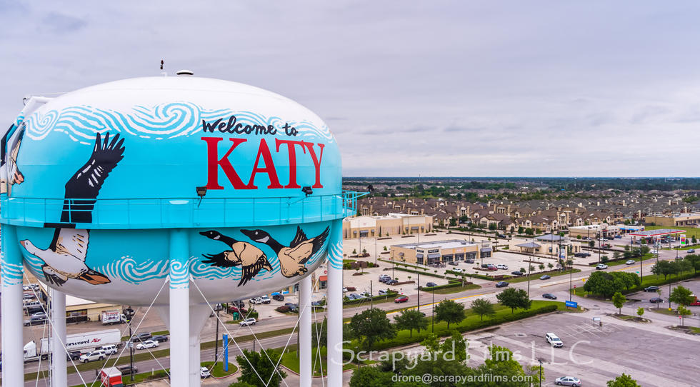 New Katy Water Tower