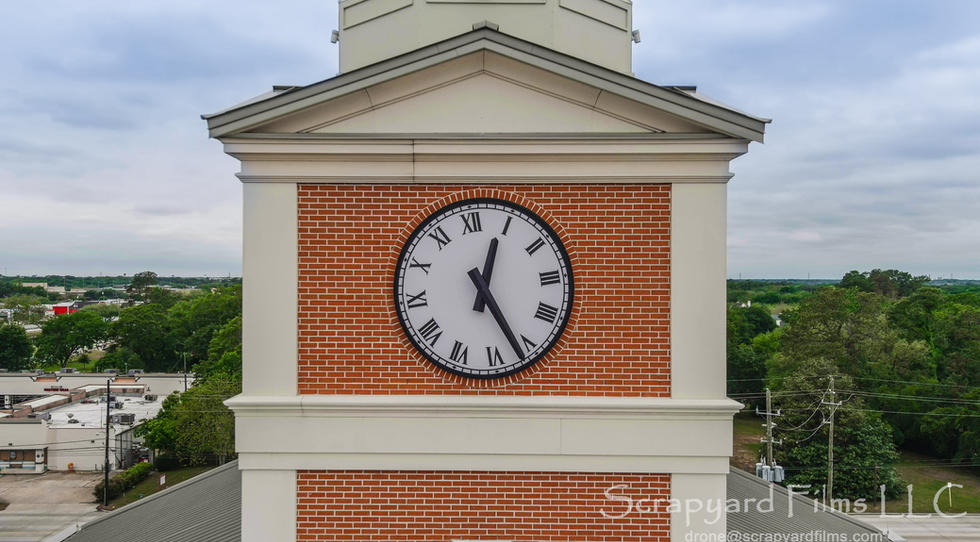 Katy Courthouse Clock