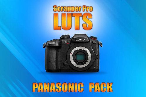 Scrapper Pro LUTS - Panasonic Pack