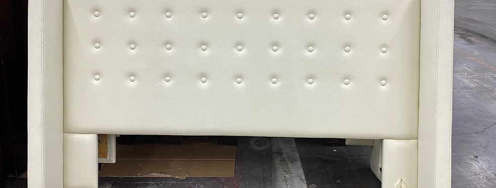 King - Headboard (White)