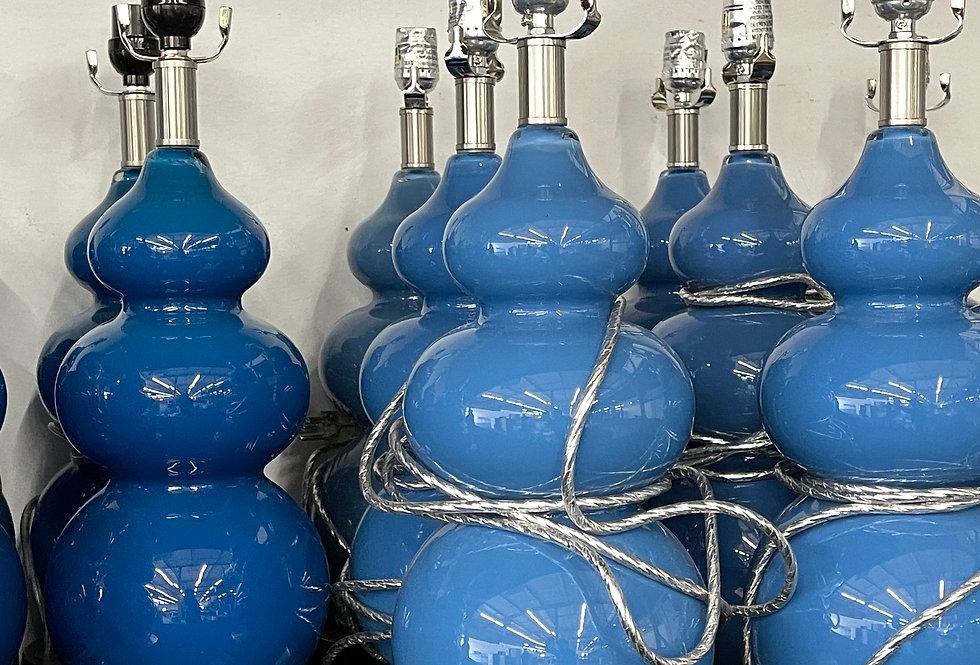 King - Light Blue Lamp (Nightstand)