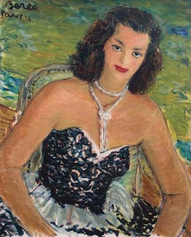 Portrait, Paris, 1948