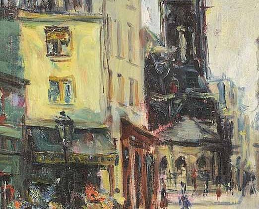 Montmartre - Exhibition @ Bernheim Jeunne, Paris, 1948