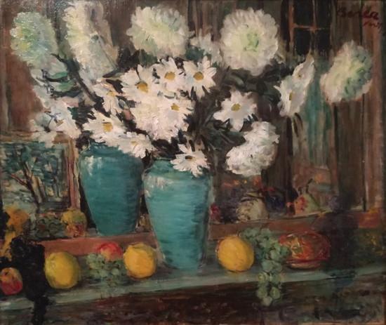 Le vase bleu, Paris, 1956