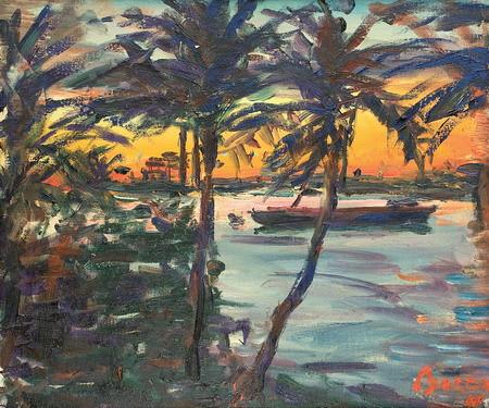Caribbean lanscape, 1966