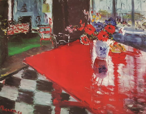 Red table, 1965