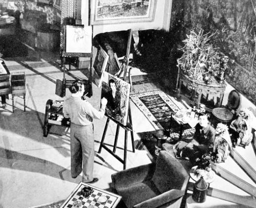 Berea with Louise Rainer, Paris 1949